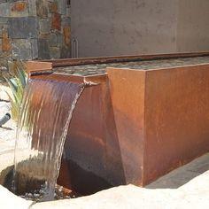 Cor-ten Fountain Design Ideas, Pictures, Remodel, and Decor