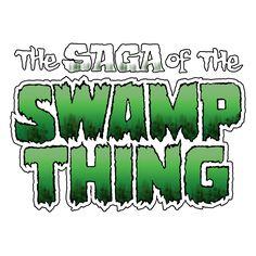 """Swamp Thing"" Volume 2 logo recreated with PhotoShop!  #swampthing #thesagaoftheswampthing #swampthingvolume2 #comics #comictitle #logo #dccomics #warnerbros #photoshopart"