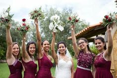damas de honor Bridesmaid Dresses, Wedding Dresses, Fashion, Engagement, Valentines Day Weddings, Bridesmaids, Pictures, Bridesmade Dresses, Bride Dresses