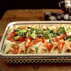 Chicken Enchiladas | MyRecipes.com