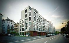 Alfred-Escher Strasse, Zürich - Züst Gübeli Gambetti - Architektur und Städtebau AG - Architekten Zürich