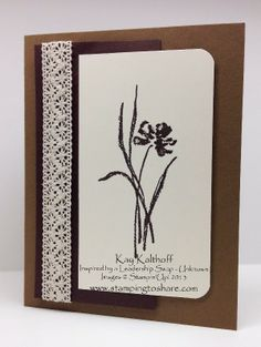 Stamping to Share: Love & Sympathy with a How To Video, Kay Kalthoff, Stampin' Up!, Sympathy Card