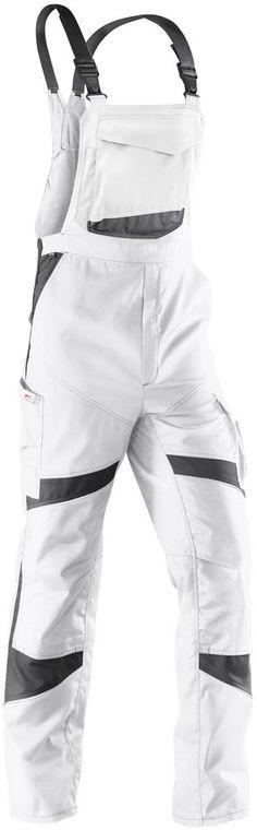 KÜBLER Latzhose »ACTIVIQ« ab 79,99€. Belastungspunkte mit Riegeln gesichert, Vorgeformtes Knie mit Bewegungszone bei OTTO