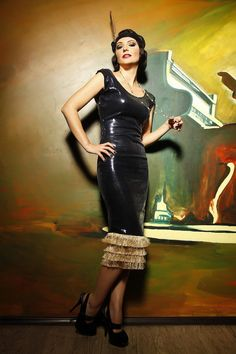 jazzthetics:    1920s inspired dress by DyStyle on Etsy