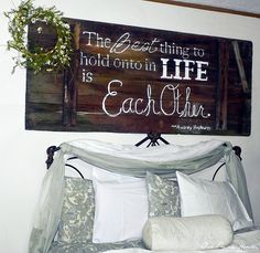 I want it. Barn Door Sign