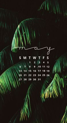 May 2018 Calendar | Wallpaper for iPhone