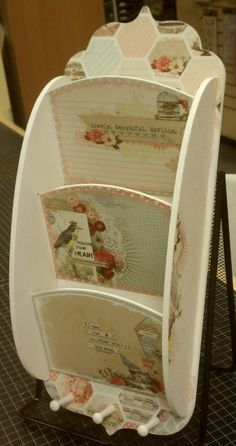 Letter Holder   Tuesday April 17th  6-8 PM  $35