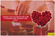 Give your love the gift of a soothing and relaxing massage at #AlcorSpa this Valentine's Day! To book an appointment visit: http://alcorspa.in/book-appointment/ #Alcor #PamperYourself #ValentinesDay #GiftOfLove #CelebrateLove