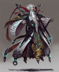 Dr. Dragon inspiration. #MetalShadow Guiguzi - CGHub Datouxiaozuo