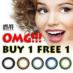 Limited time offer Buy one get one free! Check out our website to find out more! Hazel Contacts, Green Contacts, Circle Lenses, Buy One Get One, Picture Collection, How To Find Out, Cosplay, Popular, Website