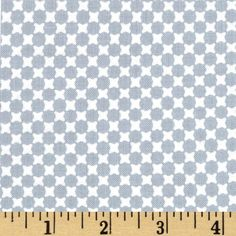 Essentials 9 Geo Dots Gray from @fabricdotcom  From Studio E, this cotton print is perfect for quilting, apparel and home decor accents.  Colors include grey and white.