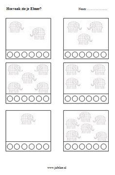 Juf Eline - Lesideeën Basisonderwijs - Elmer Elmer The Elephants, Childcare Rooms, 1st Grade Math, Montessori Activities, Children's Literature, Conte, Pre School, Creative Writing, Kindergarten