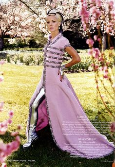 Daphne Guiness UK Vogue by fashion_editorials, via Flickr