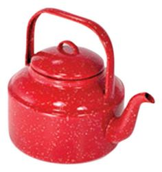 Pin it! :) Follow us :))  zCamping.com is your Camping Product Gallery ;) CLICK IMAGE TWICE for Pricing and Info :) SEE A LARGER SELECTION of  camping coffee & tea pots at  http://zcamping.com/category/camping-categories/camping-cooking-and-food/camping-coffee-and-tea-pots/ - hunting, camp coffee, camping tea pots, camping essentials, camping, camping gear - GSI Outdoors 2021 Red Tea Kettle « zCamping.com