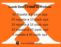 Cross Fit Workout. Fast and efficient