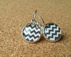 Geometric jewelry geometric earrings abstract by NiteOwl15 on Etsy, €9.99