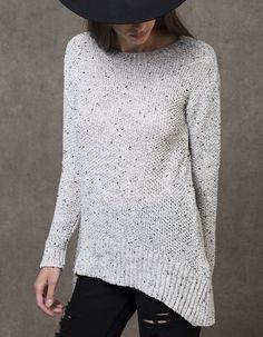 Jersey tricot con forma
