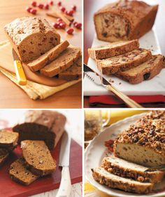 quick breads for fall