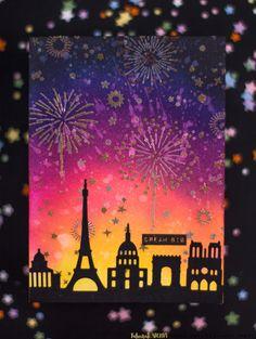 Seven Hills Crafts Blog: Dream Big Fireworks Card
