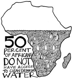 Access to clean drinking water in Africa  from Fair Share Project  http://fairshareproject.wordpress.com/