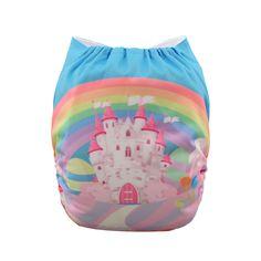 Alvababy Girl Adjustable Reusable Washable Cloth Diaper Pocket Nappy 1INSERT | eBay