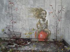 Street Art in Pripyat, Ukraine - Close to Chernobyl
