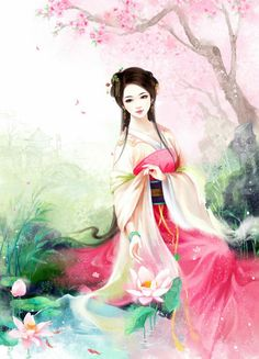 Ancient Chinese Maiden