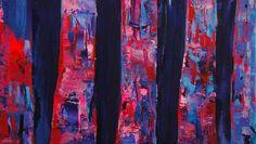 "Saatchi Art Artist Lengl Orsolya; Painting, ""Birch tree"" #art"