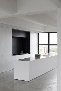 Beautiful #Modern Minimalist #Kitchen Designs -- Essentials…