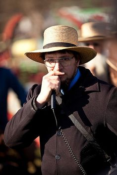 Amish Auctioneer