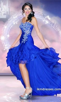 2015 High Low Sweetheart Pleated Bodice Beaded Prom Dress With Layered Chiffon Skirt  http://www.ikmdresses.com/2014-High-Low-Sweetheart-Pleated-Bodice-Beaded-Prom-Dress-With-Layered-Chiffon-Skirt-p85083