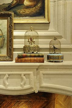 Cottage Living  Vignette  French Provincial by Linda L Floyd Inc Interior Design