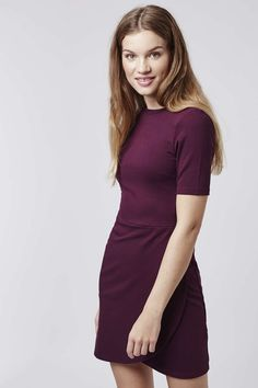 Photo 2 of PETITE Wrap Ponte Bodycon Dress