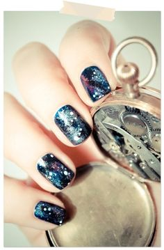 "Check out ""galaxy nails. "" Decalz @Lockerz"