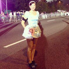 Cinderella for the Disney Princess Half Marathon