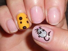 Mouse and cheese nails!