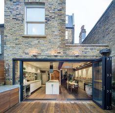 Back of house opening kitchen extension open plan, extension ideas, side return extension, Style At Home, Side Return Extension, Rear Extension, Extension Ideas, Glass Extension, Extension Google, Brick Extension, Extension Designs, Victorian Terrace