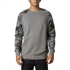 2013 Fox Racing Wreckage Casual Motocross Insulated Sweatshirt Adult Fleece