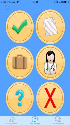 Hospital Talk on the App Store Aphasia, Head Injury, App Store, Tech Logos, Apps, Group, Board, App, Planks