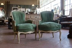 Pair 19th Century French Bergere Chairs | From a unique collection of antique and modern bergere chairs at http://www.1stdibs.com/furniture/seating/bergere-chairs/