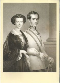 A VINTAGE POST CARD: THE NEWLY - WED. IMPERIAL COUPLE, 24.5.1854 , CAFEB 786 | eBay