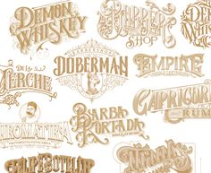 """Check out this @Behance project: """"Lettering Collection  I"""" https://www.behance.net/gallery/47915661/Lettering-Collection-I"""