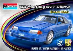Monogram 93 Mustang SVT Cobra box art