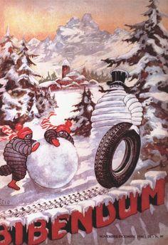 Vintage #Michelin #Winter