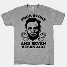 Four Score and Seven Beers Ago Erin's 28th