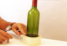 3-Ways-to-Cut-Glass-Bottles-5 | DIY Projects & Crafts by DIY JOY at http://diyjoy.com/how-to-cut-glass-bottles-wine-bottle-crafts