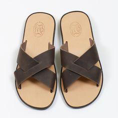 Rodos | sandales en cuir pour hommes __________ Aᴛᴇʟɪᴇʀ 1935 | Pᴀʀᴏꜱ