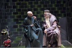 Harry Potter : Voldemort and Dumbledore having a nice chat