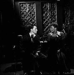 L for legends: Ella Fitzgerald & Frank Sinatra