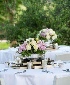 #weddingcenterpieces (www.7centerpieces.com/stonewall-vineyard-wedding-by-svetlana-photography)   Svetlana Photography (www.lanafoto.com)